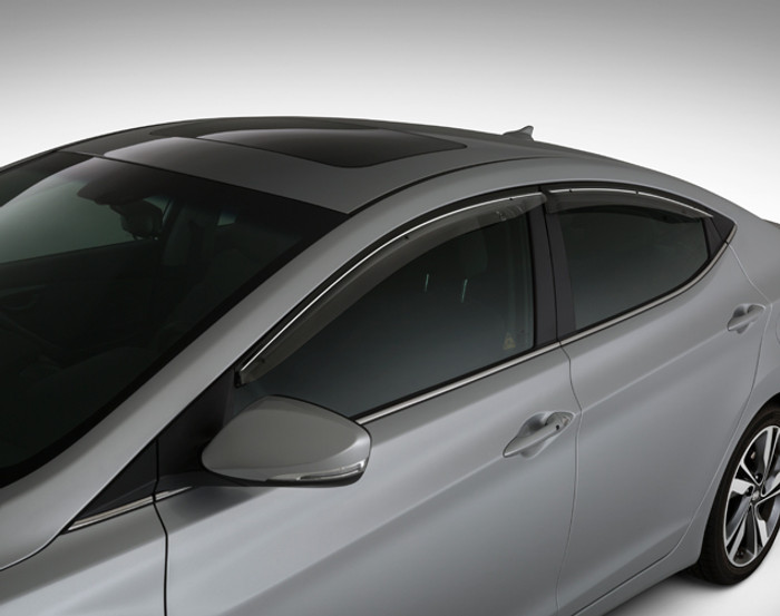 Hyundai Elantra Coupe OEM Rain Guards (D093)