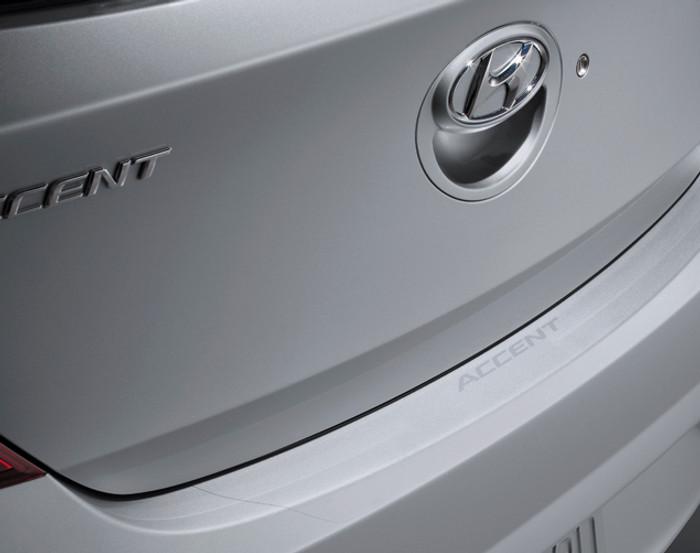 Hyundai Accent Rear Bumper Protector Film (B054)