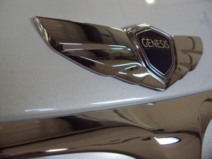 Hyundai Genesis Winged Badge Set One (F025)