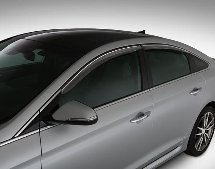 Hyundai Sonata OEM Rain Guards (J088)