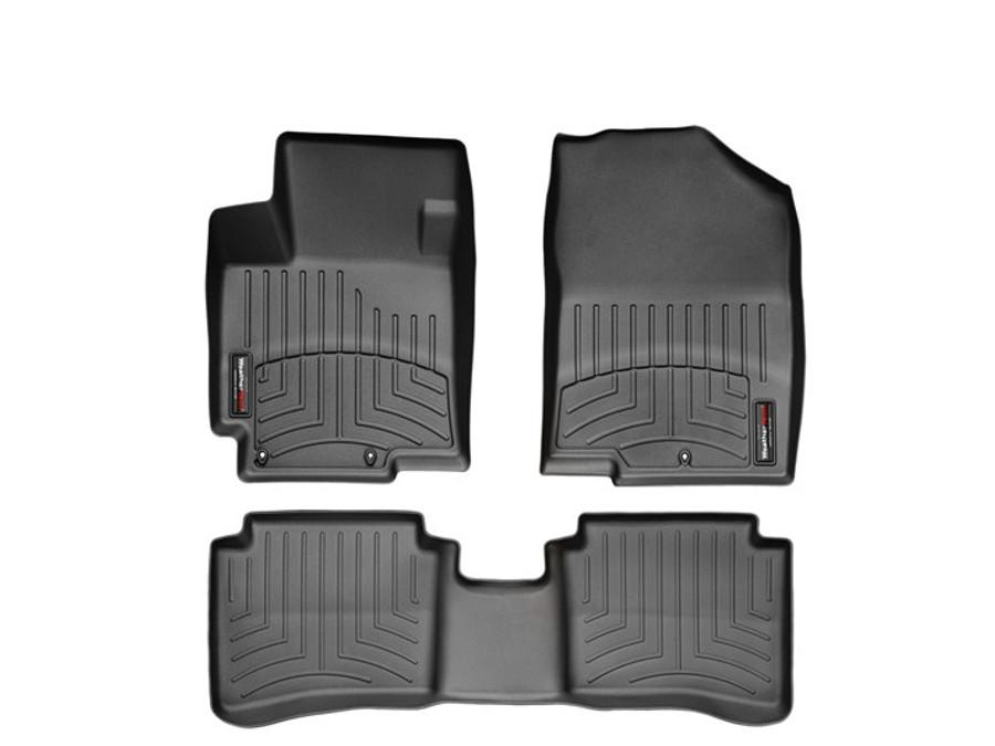 Hyundai Accent WeatherTech Floor Liners - Black
