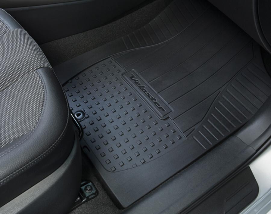 hyundai veloster rubber floor mats aa001