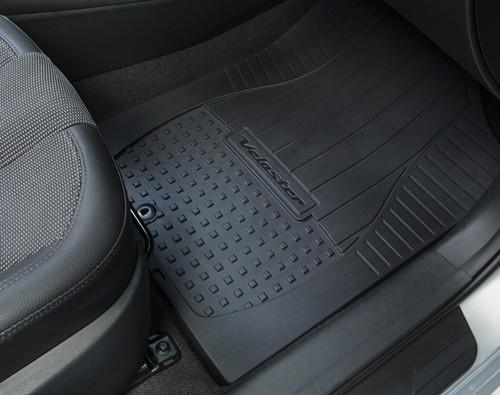 Hyundai Veloster Rubber Floor Mats Hyundai Shop