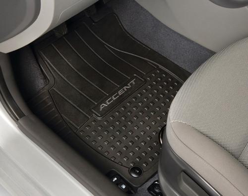 Hyundai Accent Rubber Floor Mats Hyundai Shop