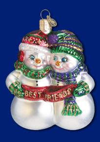 Best Friends Snowman