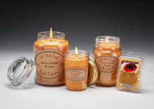 Berry Creme Brulee Candles