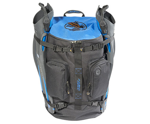 Akona Globetrotter Bag - Fits all your gear including your fins strapped to the outside