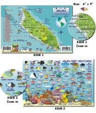 Waterproof Fish ID Card - Aruba