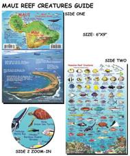 Waterproof Fish ID Card - Maui Hawaii