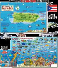 Waterproof Fish ID Card - Puerto Rico
