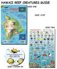Waterproof Fish ID Card - Hawaii Big Island