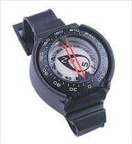 Underwater wrist compass
