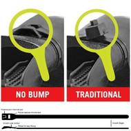 Mouthpiece Zip Ties - No Bump
