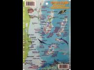 Waterproof Fish ID Card & Map - Belize Atolls