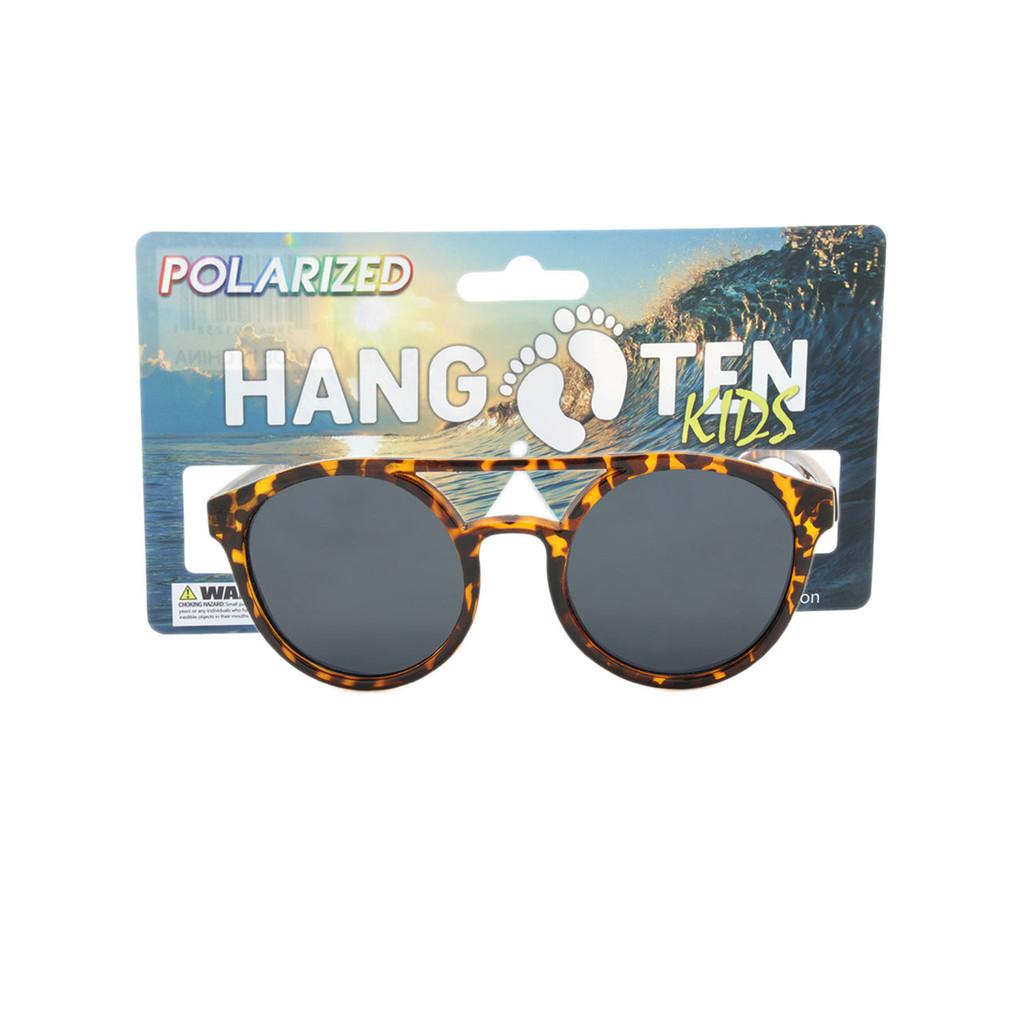Tortoise Frame HANGTEN KIDS Polarized Lens W/ Card