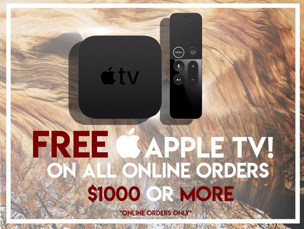 FREE APPLE TV! GWP