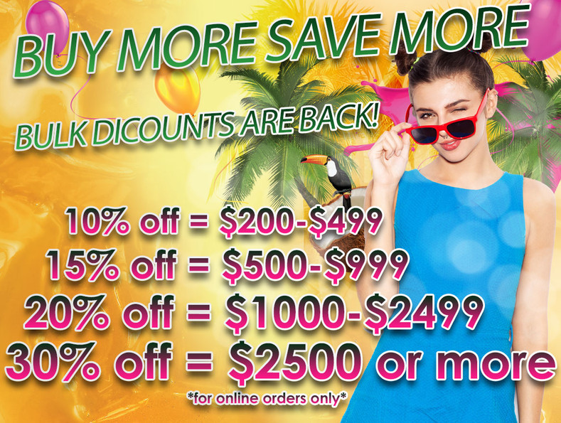 Buy More and Save More!