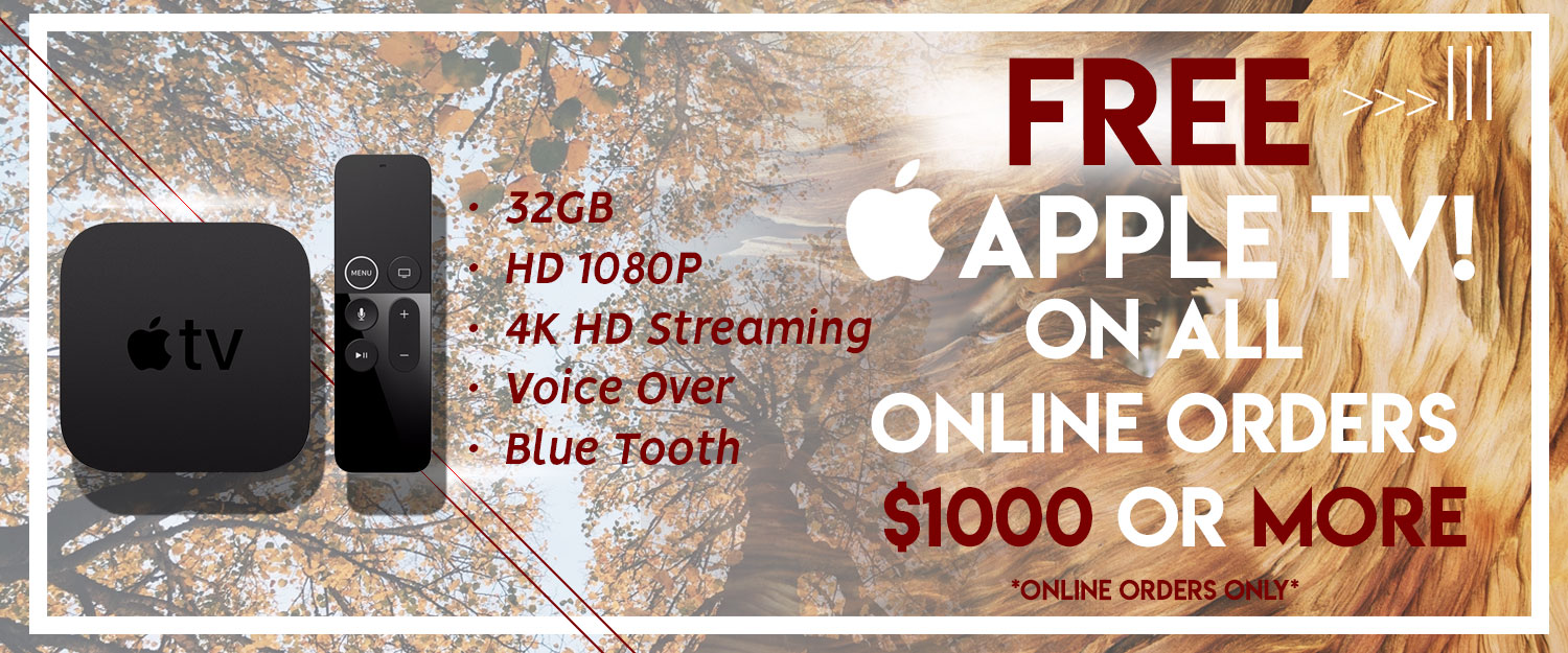 Apple TV Free Gift w/ Purchase
