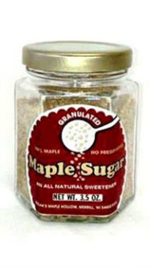 Maple Sugar Granules - 3.5 oz jar - 1 unit Kosher