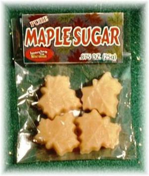 Maple Sugar 4/pak - 7/8 oz - 1 unit Kosher