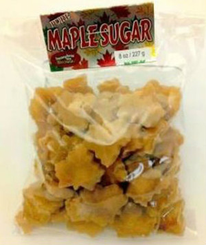Maple Sugar Shapes - 8 oz bag - 1 unit - Kosher