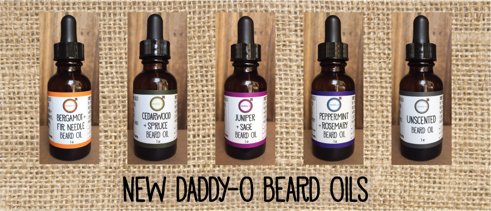 New Daddy-o Beard oils