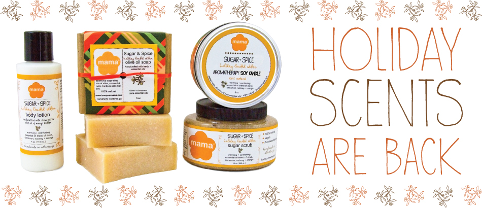 Holiday Scents Are Back!