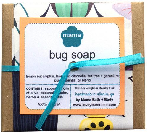 Mama Bath + Body's all-natural Bug Repellent Soap!