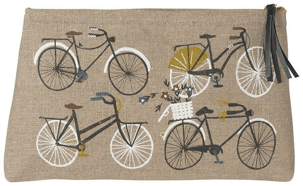 Bicicletta Cosmetic Bag - Large | Mama Bath + Body