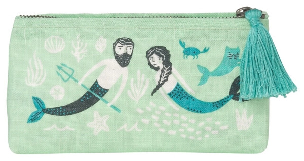 Sea Spell Cosmetic Bag - Pencil | Mama Bath + Body