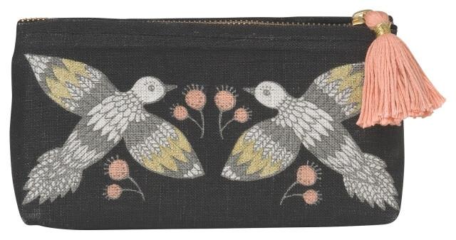 Wild Tale Cosmetic Bag - Pencil | Mama Bath + Body