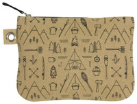 Adventure Awaits Zip Pouch - Large | Mama Bath + Body