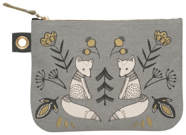 Wild Tale Zip Pouch - Large | Mama Bath + Body