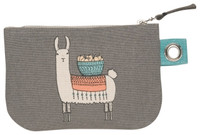 Llamarama Zip Pouch - Small | Mama Bath + Body