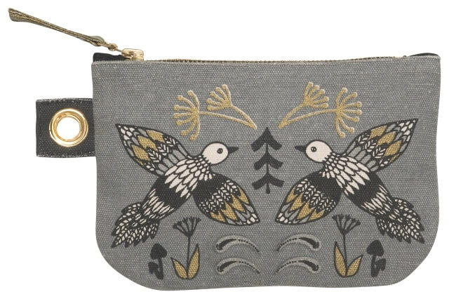 Wild Tale Zip Pouch - Small | Mama Bath + Body