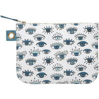 Birdland Zip Pouch - Large | Mama Bath + Body