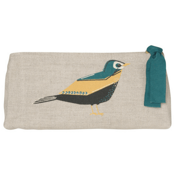 Chirp Cosmetic Bag - Pencil | Mama Bath + Body