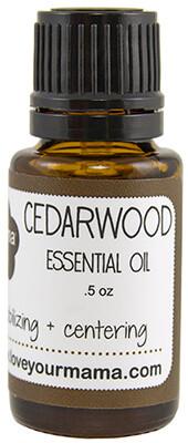Cedarwood Essential Oil | Mama Bath + Body