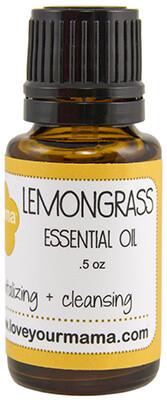 Lemongrass Essential Oil | Mama Bath + Body