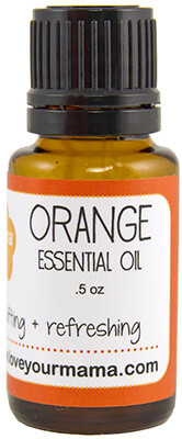 Orange Essential Oil | Mama Bath + Body