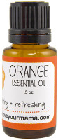 Orange Essential Oil | Mama Bath + Body