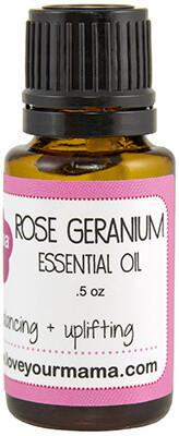 Rose Geranium Essential Oil   Mama Bath + Body