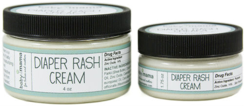 Mama Bath + Body's 100% natural + hand-crafted BabyMama Diaper Rash Cream