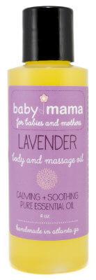 BabyMama Lavender Body and Massage Oil | Mama Bath + Body