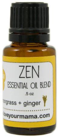 Zen (Lemongrass + Ginger) Essential Oil Blend | Mama Bath + Body