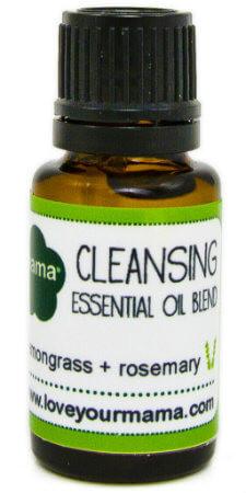 Cleansing (Lemongrass + Rosemary) Essential Oil Blend  | Mama Bath + Body