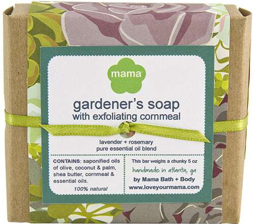 Gardener's Soap - Gift Wrapped | Mama Bath + Body