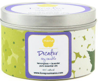 Decatur Neighborhood Soy Candle | Mama Bath + Body