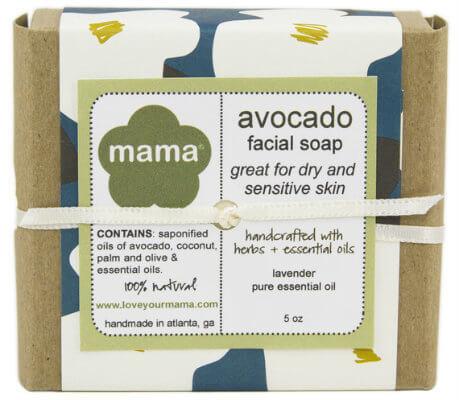 Avocado Oil Face Soap - Gift Wrapped | Mama Bath + Body