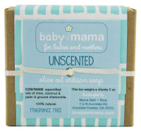 BabyMama Unscented (with chamomile) Soap - Gift Wrapped | Mama Bath + Body